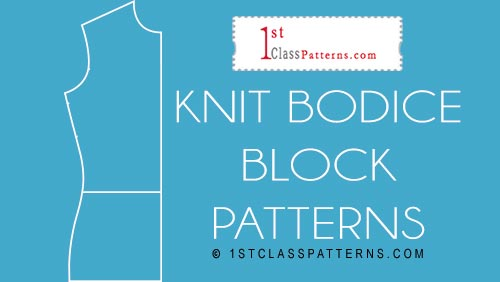 1st Class Patterns - digital knit block patterns to create your styles.