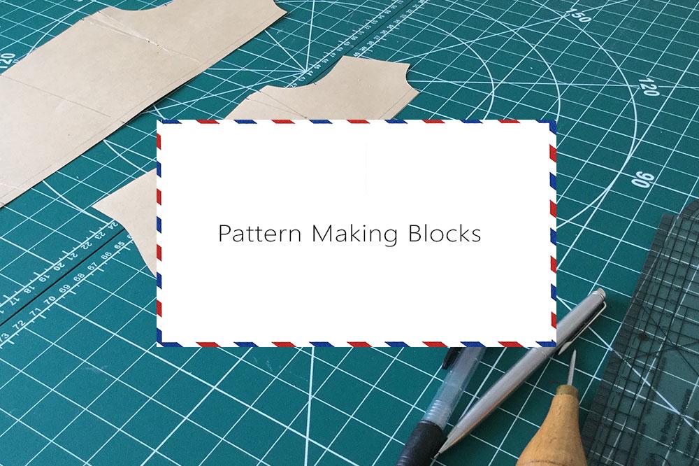 A0, A4,US letter size digital block patterns